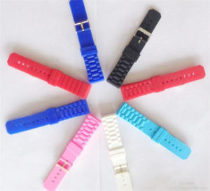 Eco-Friendly Waterproof Silicone Sport Watch Band Watch Strap pictures & photos