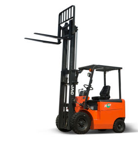 2.5ton Four Wheel Electric Forklift Truck pictures & photos