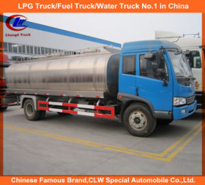 FAW 10cbm Milk Truck for 10ton Fresh Milk Tank Truck pictures & photos