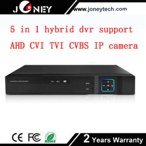 5 in 1 Hybrid DVR Support Ahd Cvi Tvi Cvbs IP Camera Input pictures & photos