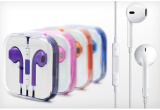 Colorful Earphones Headphones for iPhone 5 5s 5c Earpods Earbuds Headset with Mic