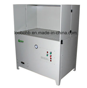 Self Cleaning Grinding Polishing Dust Removal Downdraft Fume Extraction Work Table pictures & photos