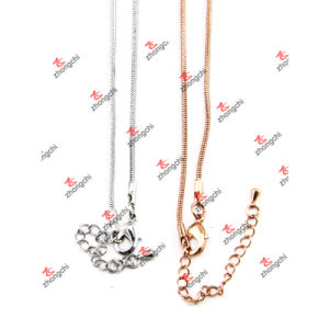Custom Brass/Stainless/Iron Chain Necklace for Pendants Accessories (NC132) pictures & photos