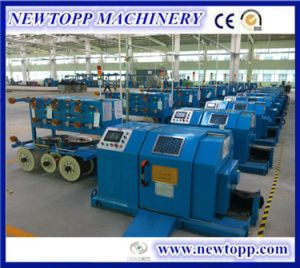 Digital Setting Horizontal High-Speed Cable Single Strander Machine pictures & photos
