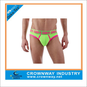 Sexy Colorful Lingerie Boxer Briefs for Men pictures & photos