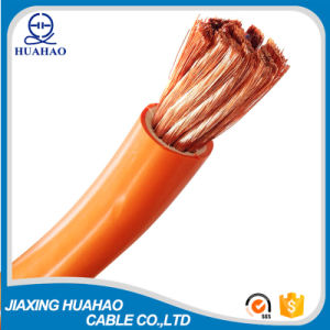 Orange PVC Color Copper Condcutor Welding Cable pictures & photos