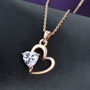 Heart Style Pendant Necklace Valentine′s Day Gift Jewelry pictures & photos