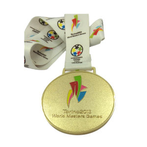 with Ribbon Souvenir Items Customized Metal Sports Medal pictures & photos