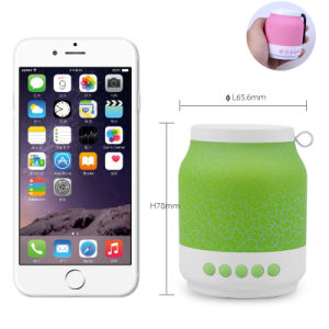 Crack LED Light Wireless Portable Bluetooth Mini Speaker pictures & photos