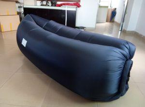Portable Inflatable Air-Filed Sleeping Bag Camping Holiday Beach Lazy Air Sofa Lay Bag Sleeping Sofa Air Bed Laybag pictures & photos