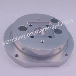 CNC Block Base of Aluminum with Anodizing Surface Treatment pictures & photos