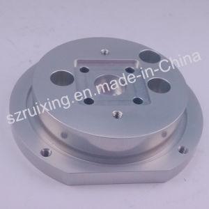 CNC Block Base of Aluminum with Anodizing Surface Treatment