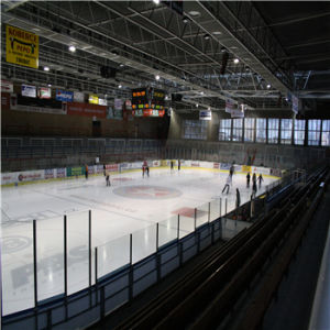 Clear Polycarbonate Solid Sheet for Ice Rink Barrier pictures & photos