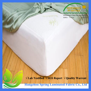 High Quality Bamboo Waterproof Mattress Protector pictures & photos