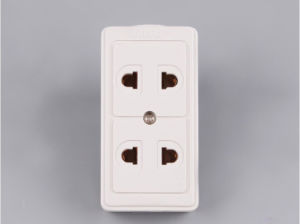 4 Digital 2 Pin Universal 10A Extension Socket pictures & photos
