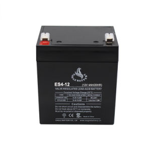 Top Quality 12V 4ah Lead Acid Rechargeable Battery pictures & photos