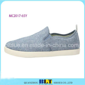 Jeans Low Studs Sneaker Shoes for Men pictures & photos