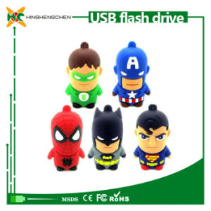 New Cartoon Warriors Model USB 2.0 Flash Memory Stick Pendrive pictures & photos