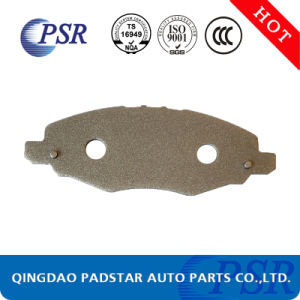 Heavy Duty Brake Pads Cast Iron Back Plate Supplier pictures & photos