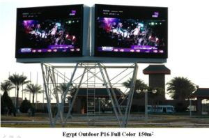 China Giant P8 Outdoor LED Display Boards for Airport Station