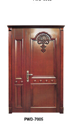 Solid Wood Doors New Style in Foshan pictures & photos