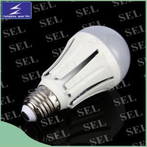 7W E27 Aluminum Plastic LED Bulb Light