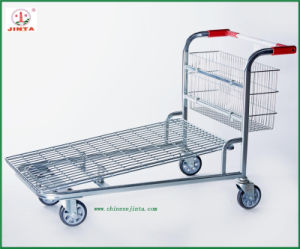 Folding Cargo Trolley Heavy Duty Logistic Cart (JT-E11) pictures & photos