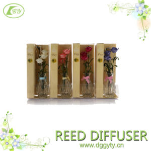 Factory Direct OEM Glass Bottle Fragrance Aroma Reed Diffuser Gift Set for SPA, Hotel, Home, Office with 100ml Essential Oil pictures & photos