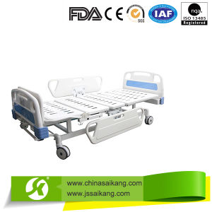 Easy Operated ABS Clinical Bed pictures & photos