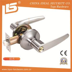 Zinc Alloy Tubular Handle Door Lock-815 pictures & photos