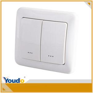 Z-Wave on/off European Standard RF Controlled Wall Module Switch