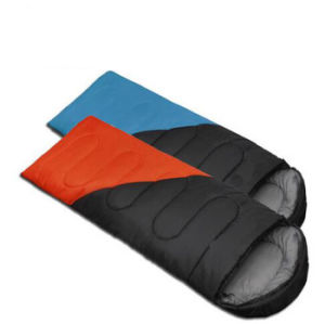 High Quality Cotton Camping for 3 Seasons Style Sleeping Bag pictures & photos