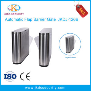 Security Control System Barcode Reader Speed Gate Flap Turnstile Barrier Gate pictures & photos