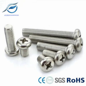 304 316 Stainless Steel Pan Head Machine Screw pictures & photos