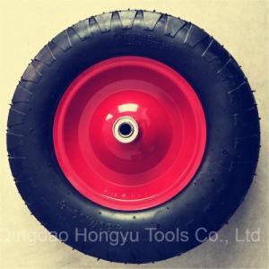 Wheelbarrow Pneumatic Rubber Wheel pictures & photos