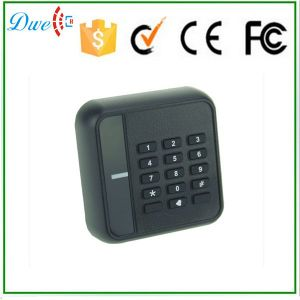 13.56MHz IC Keypad Waterproof Wiegand 26 RFID Card Reader for Security Door Access Control System pictures & photos