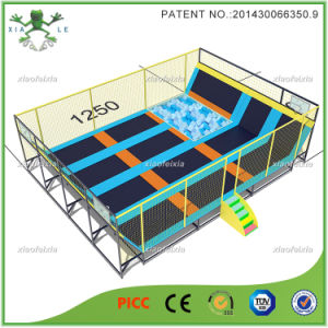 Colorful Large Sport Trampoline with Tent pictures & photos
