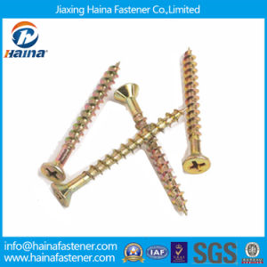 Flat Countersunk Head Self Drilling Screw with Nibs Under Head pictures & photos