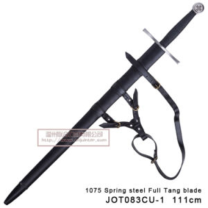 Handmade Medieval Swords with Scabbard 111cm pictures & photos