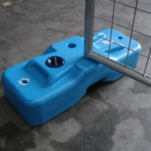 Professional Manufacturer of Plastic Base Temporary Fence pictures & photos