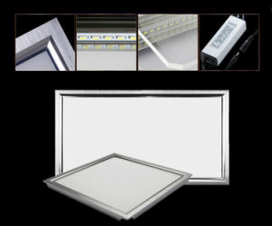 CE RoHS LGP Round/ Square LED Panel Light SMD 2835 9W 12W 15W 18W 21W 25W 110-240V LED Indoor Ceiling Recessed Downlight LED Down Lighting pictures & photos
