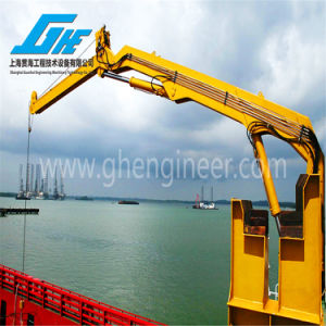 30 to 300kn. M Knuckle Boom Marine Crane (GHEC-KB001) pictures & photos