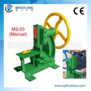 Ledgestone Splitting Machine for Natural Face pictures & photos