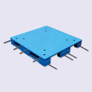 Heavy Duty Flat Double Sides Welding Plastic Pallet (ZG-1111 8 steels) pictures & photos