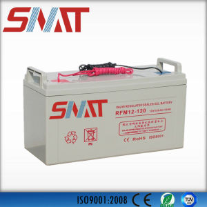 100ah/120ah/150ah/200ah Active Polymer 12V Gel Batteries for Solar Power System pictures & photos