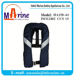 Navy Color Auto Inflation Life Jacket pictures & photos