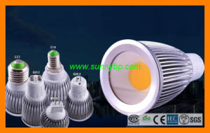 High Power COB Dimmable LED Spotlight with LED CREE Chips pictures & photos