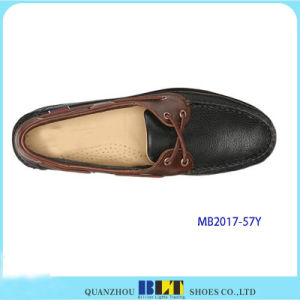 Hight Quality Leather Boat Shoes for Men pictures & photos