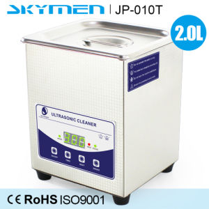 Skymen 2L Digital Ultrasonic Cleaner with Degas Function Jp-010t pictures & photos