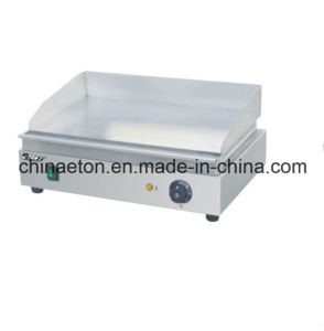Flat Plate Electric Griddle Machine pictures & photos